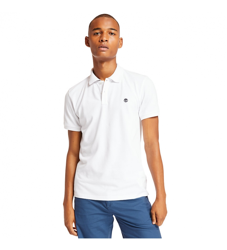 Comprar Timberland Camisa pólo Jacquard Millers branca