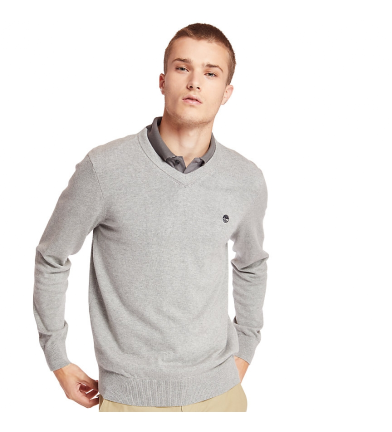 Comprar Timberland Jersey Williams River V Neck gris