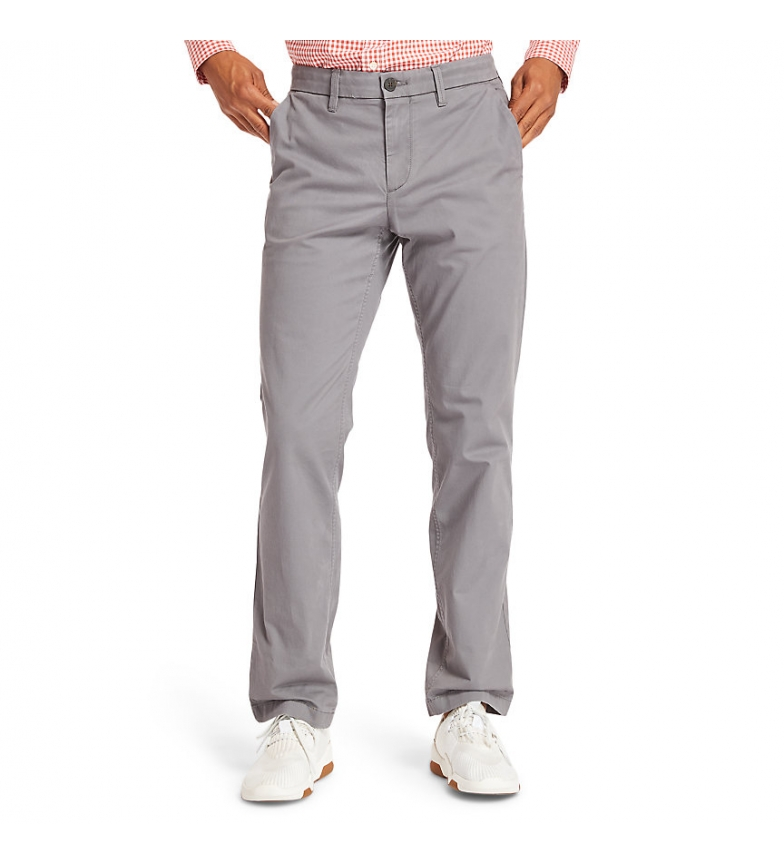 Comprar Timberland Pantalones Str Twill Straight gris