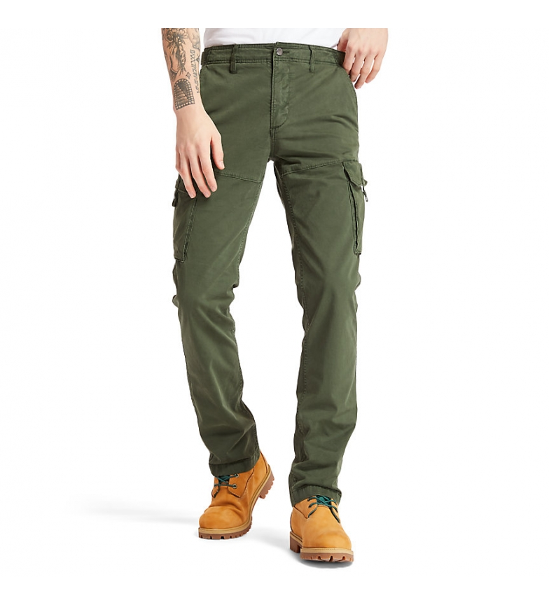 Comprar Timberland Pantaloni verdi Cargo Squam Lake