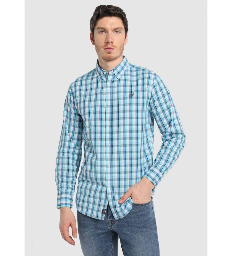 Comprar Bendorff Camisa Cuadros azul