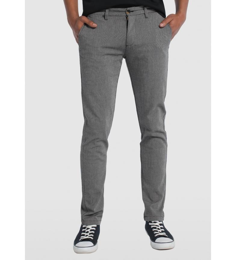 Comprar Bendorff Pantaloni cinesi in tessuto elasticizzato grigio