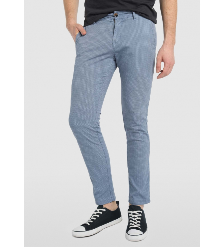 Comprar Bendorff Pantaloni chino con stampa blu