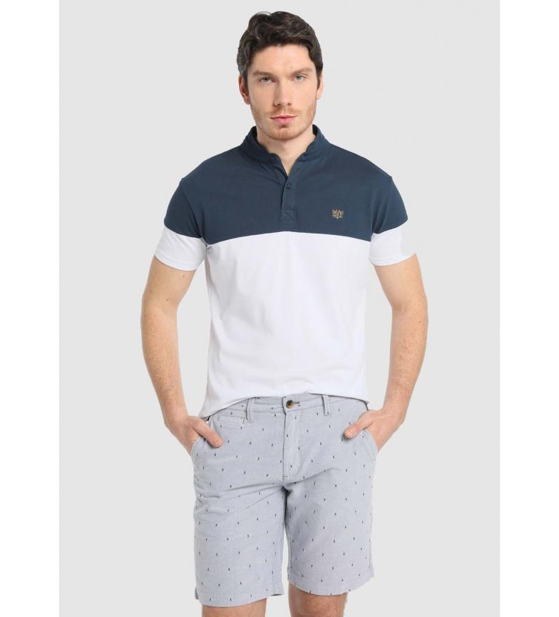 Comprar Bendorff Oxford Bermuda shorts with blue motif