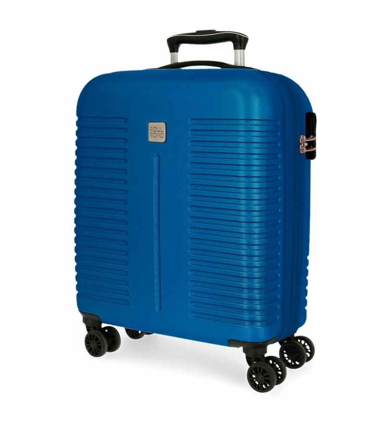 Comprar Roll Road Roll Road India Expandable Cabin Bag Blue -40x55x20cm