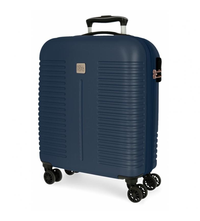 Comprar Roll Road Roll Road India Cabin Bag Rigid navy blue -40x55x20cm