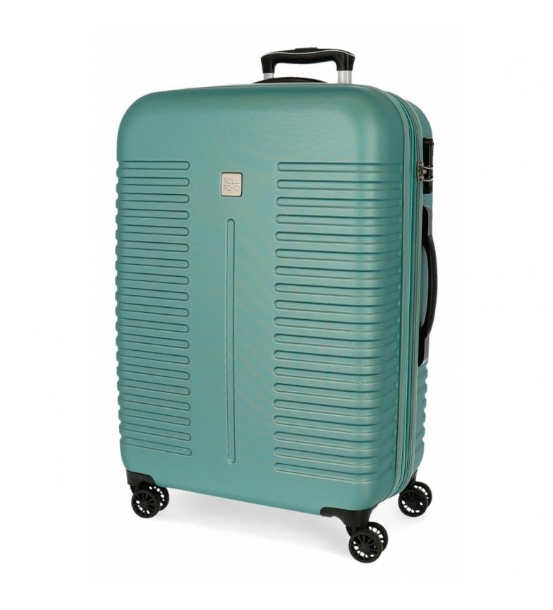 Comprar Roll Road Medium Roll Road India rigid turquoise suitcase -48x70x27cm