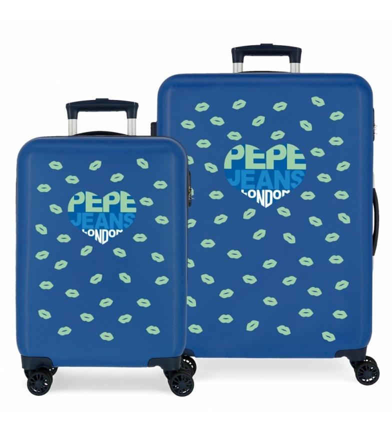 Comprar Pepe Jeans Pepe Jeans 34L and 70L Ruth rigid suitcase set -38x55x20cm/48x68x26cm