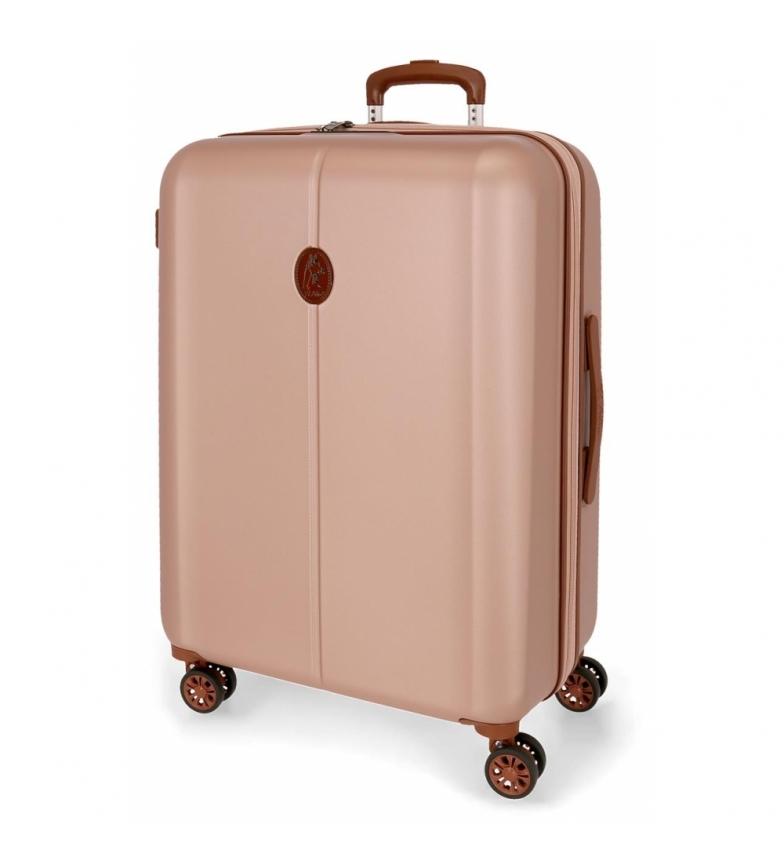 Comprar El Potro Medium Suitcase El Potro Ocuri 70cm Nude -49x70x28cm