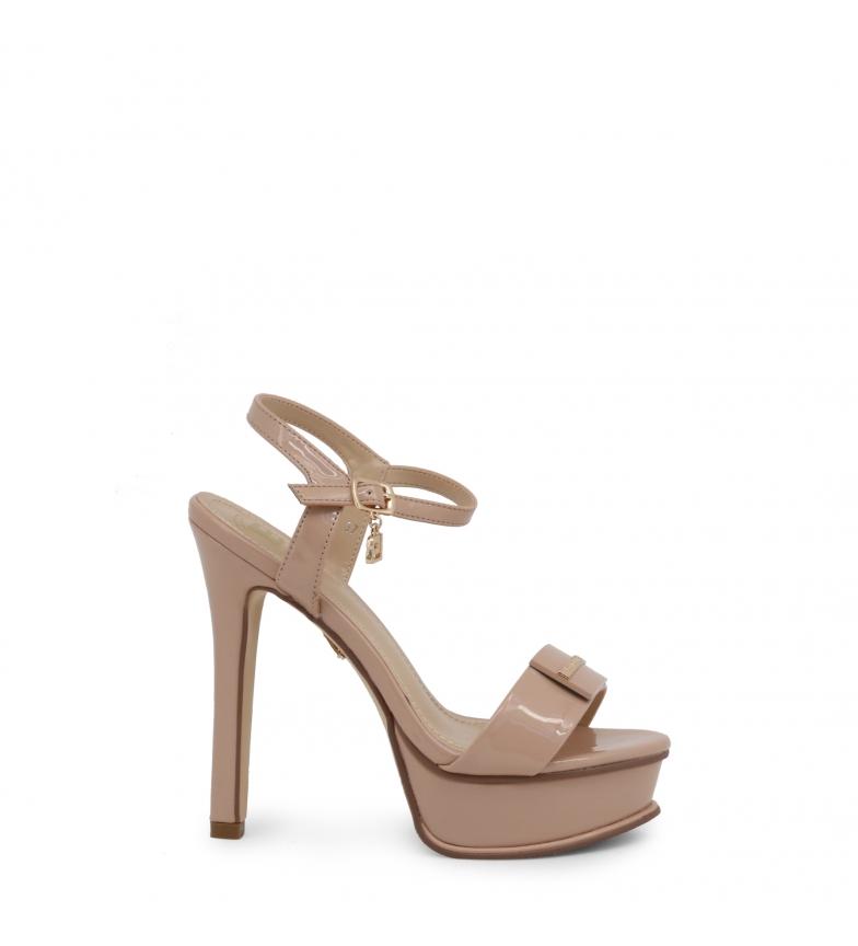 Comprar Laura Biagiotti Sandales 6128 rose - Hauteur du talon : 14cm