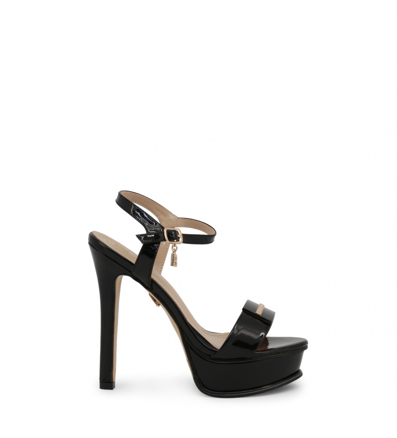 Comprar Laura Biagiotti Sandals 6128 black -Heel height: 14cm