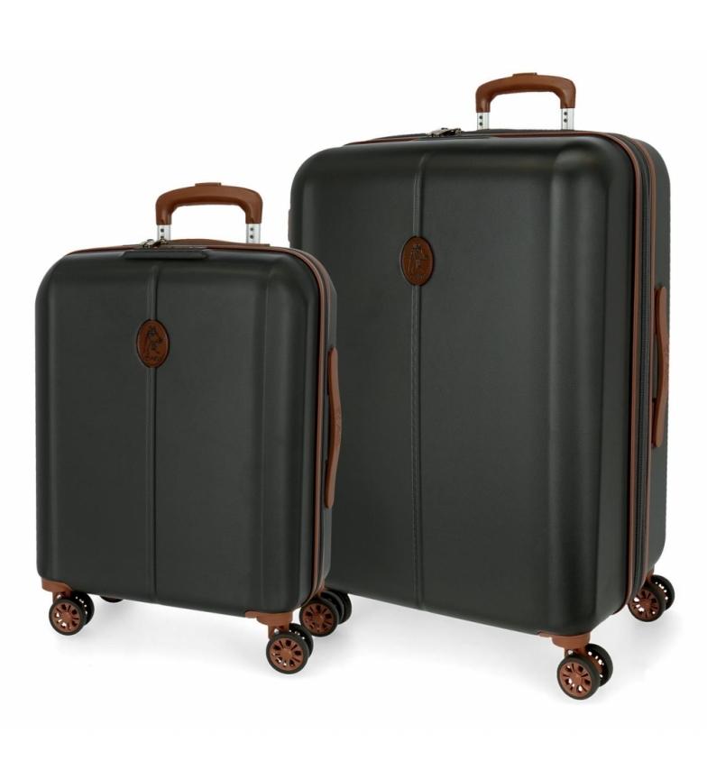 Comprar El Potro Conjunto de malas El Potro Ocuri Grey -40x55x20cm/49x70 x28 cm