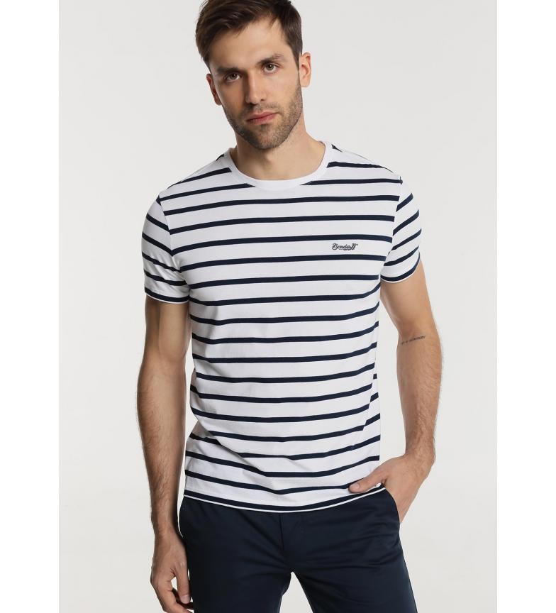 Bendorff Camiseta Rayas marino, blanco