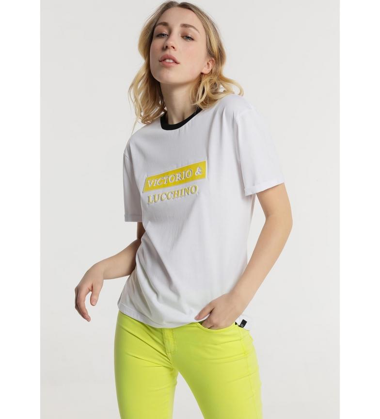 Comprar Victorio & Lucchino, V&L T-shirt M/C básica branca