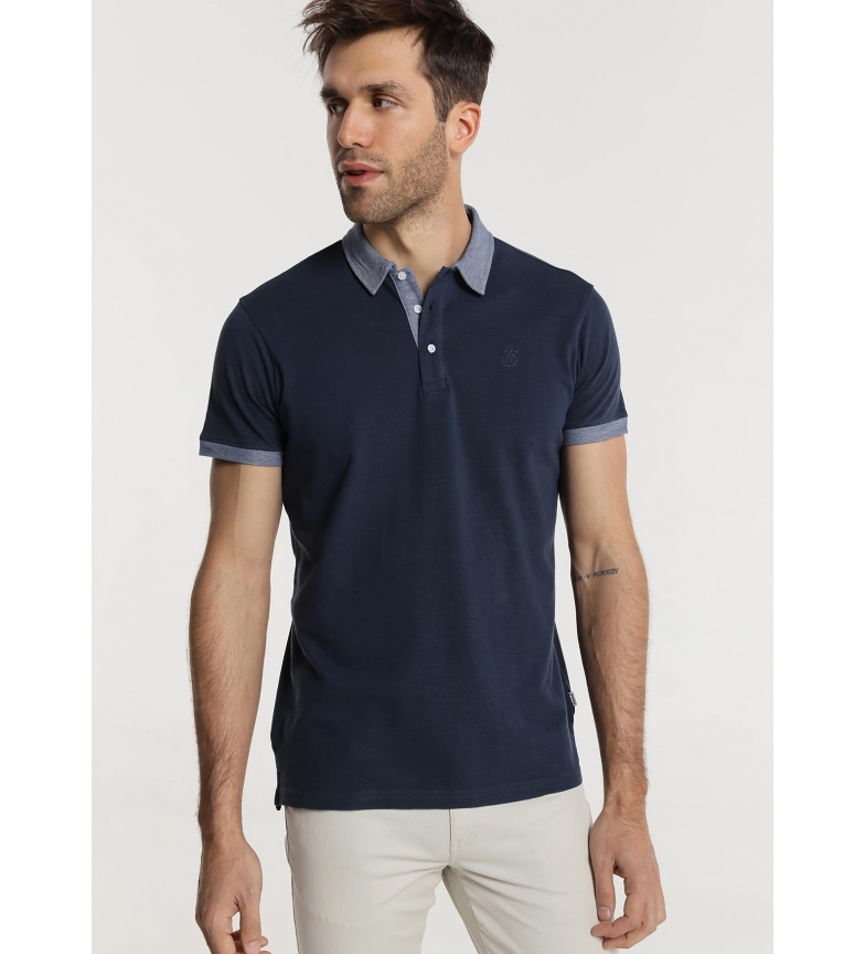 Comprar Bendorff Polo M/C Collar Slub Neck Navy Pique