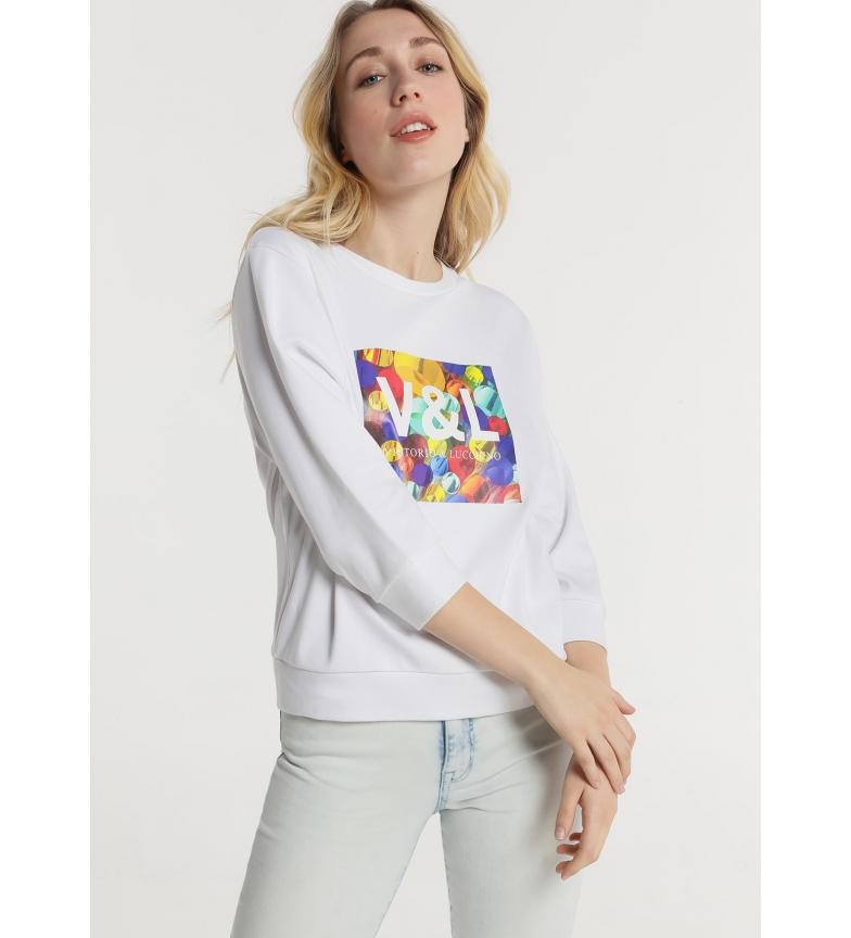 Comprar Victorio & Lucchino, V&L Sweatshirt Rapariga branca