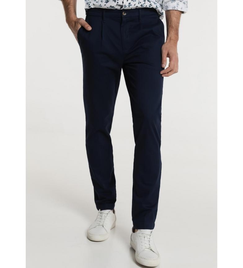 Comprar Bendorff Pantalon en caoutchouc Satin marin arrière
