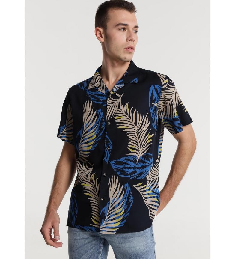 Comprar Six Valves M/C Shirt Sea Leaf Print