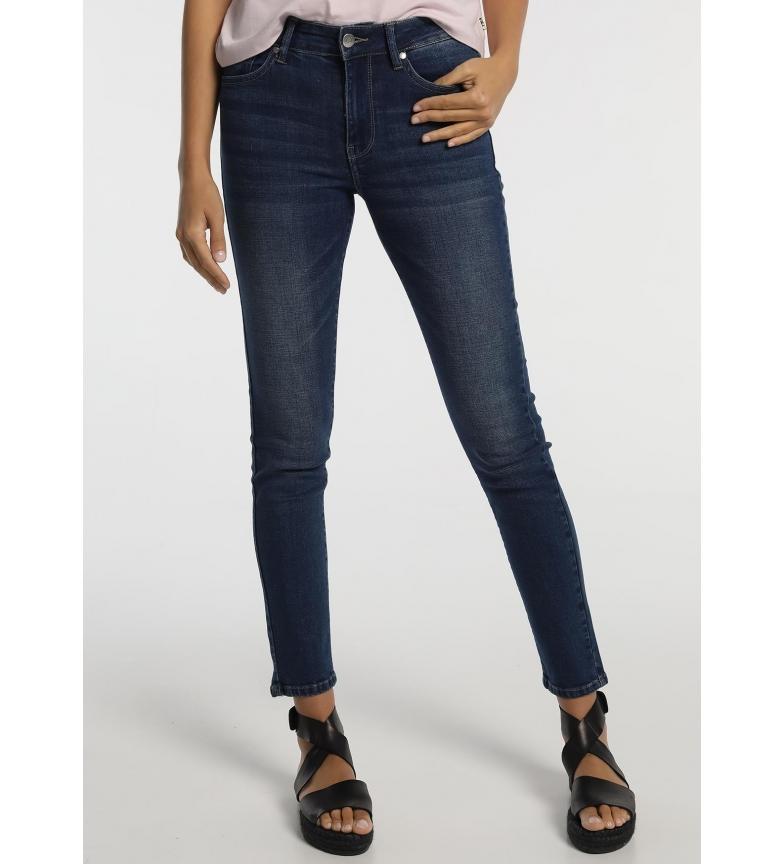 Comprar Victorio & Lucchino, V&L Jeans slim blu a vita alta