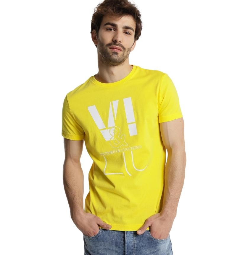 Victorio & Lucchino, V&L Camiseta Logo amarillo