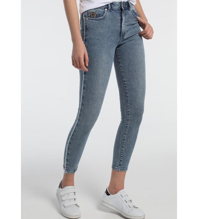 Lois Jeans Lua Ankle Hight-Henry azul