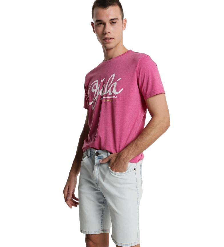 Comprar Six Valves Denim bermuda shorts Extra Bleach light blue