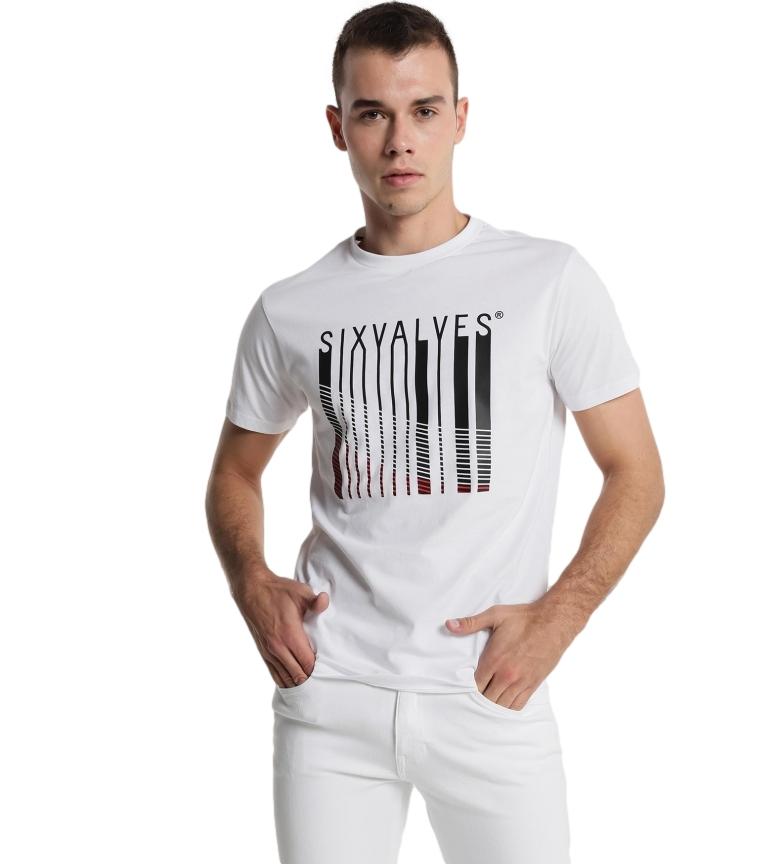 Comprar Six Valves Barcode Brand T-shirt white