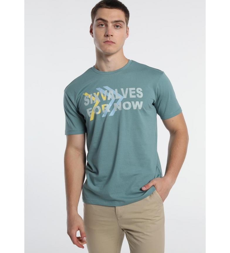 Comprar Six Valves Green T-shirt