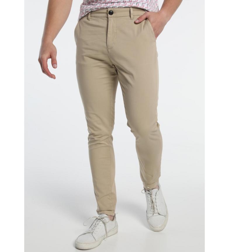 Comprar Six Valves Pantalon Chino Beige