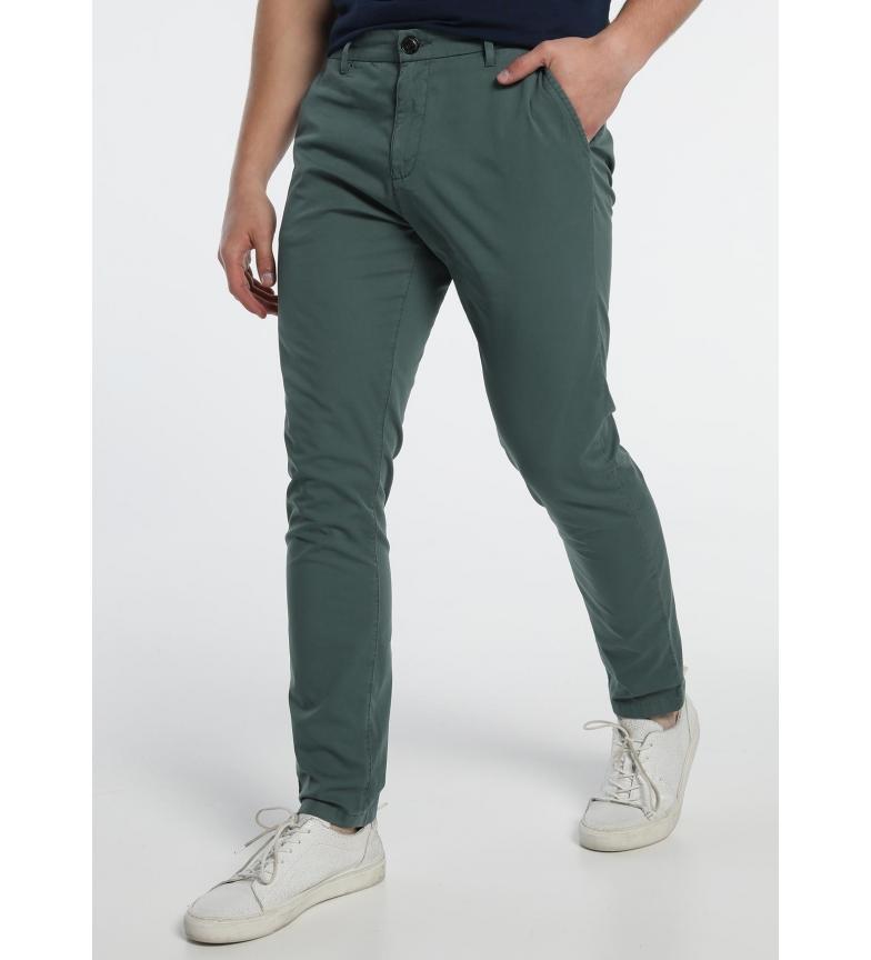 Comprar Six Valves Green Chino Pants