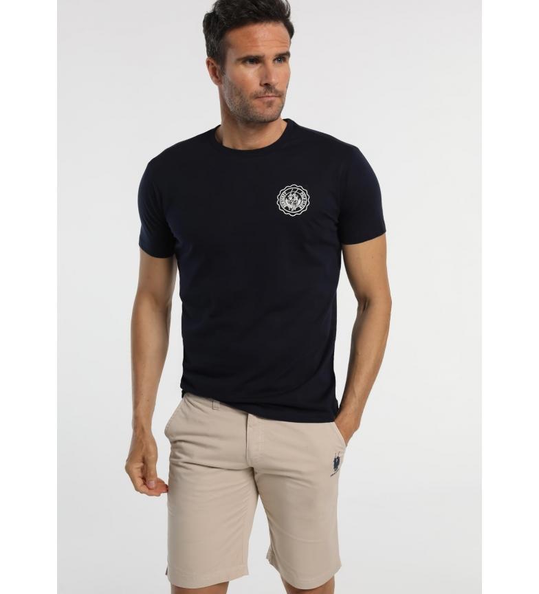 Comprar Bendorff T-shirt marinha de trás impresso