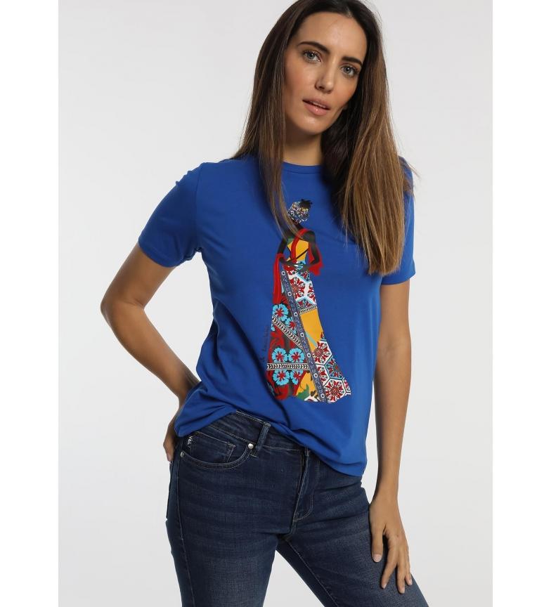 Comprar Victorio & Lucchino, V&L Camiseta da marinha provençal africana