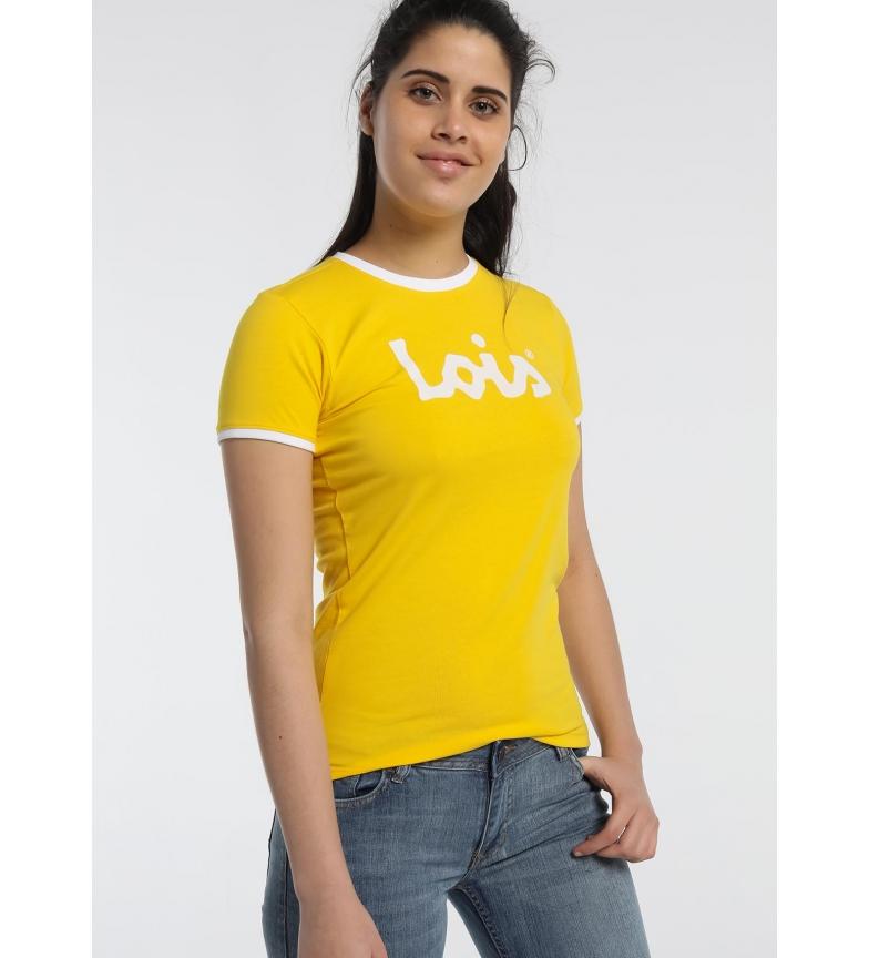 Lois Camiseta básica Must-Have amarillo