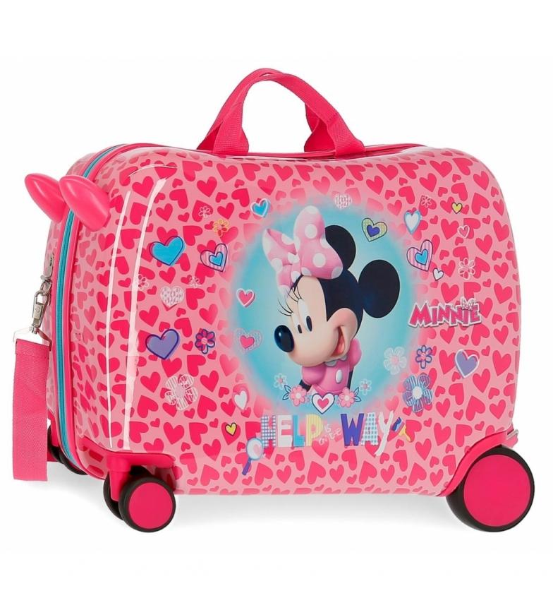 Comprar Minnie Minnie Help cas des enfants 2 roues multidirectionnelles -50x38x20cm
