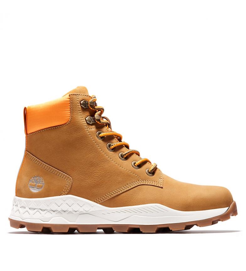 Comprar Timberland Brooklyn 6 INCH botas de couro amarelo / OrthoLite® / AeroCore / ReBOTL /