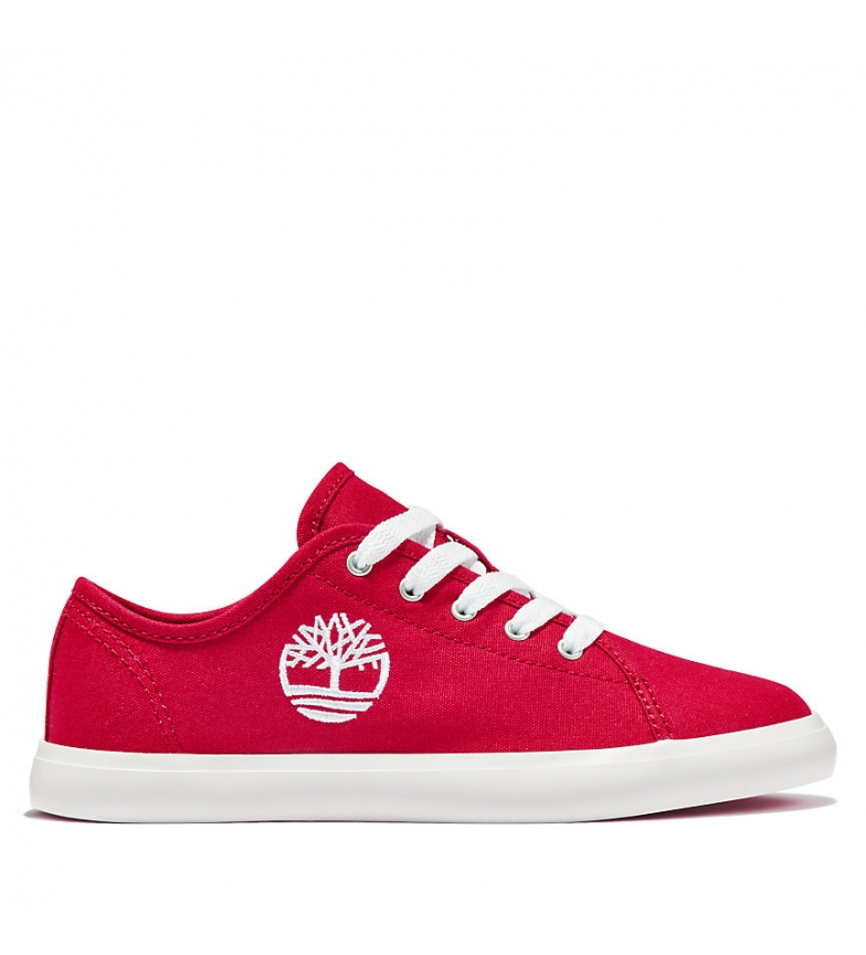 Comprar Timberland Newport Bay Canvas Ox chaussures rouges