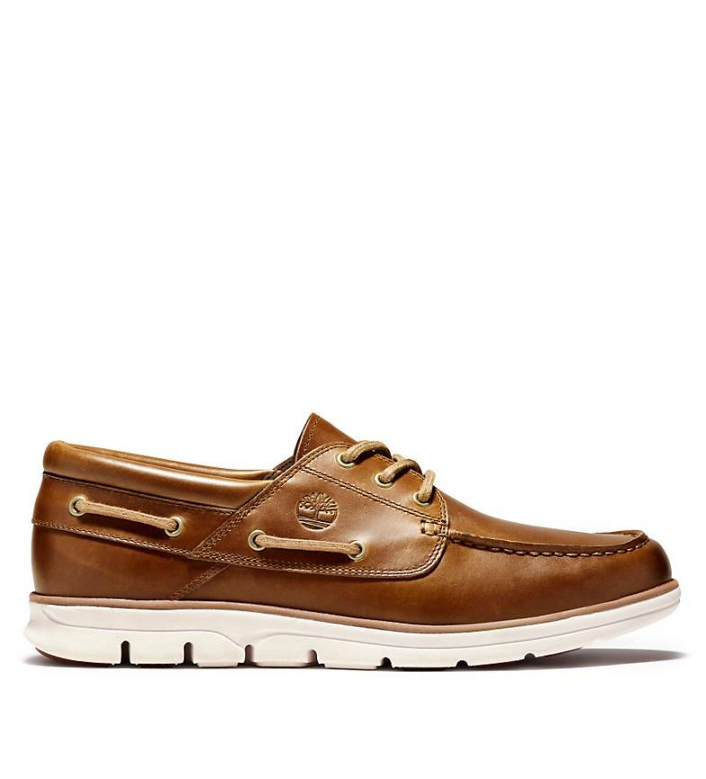 Comprar Timberland Zapatos de piel Bradstreet 3 Eye Boat marrón
