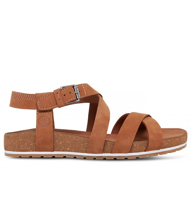 Comprar Timberland Malibu Onde Malibu Sandali in pelle cueo alla caviglia