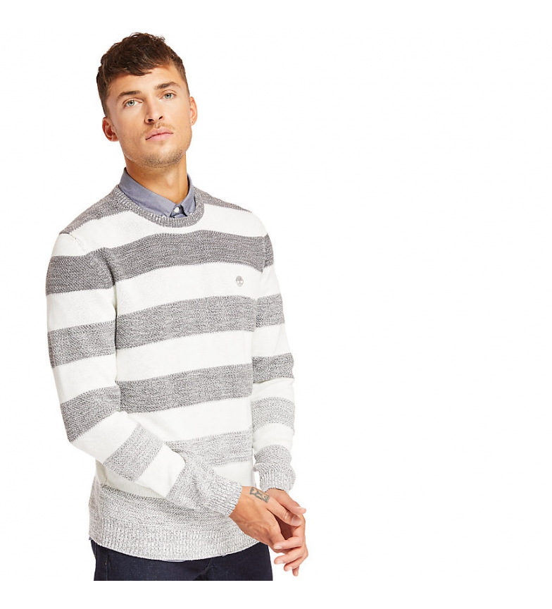 Comprar Timberland Jersey Bold Striped gris, blanco