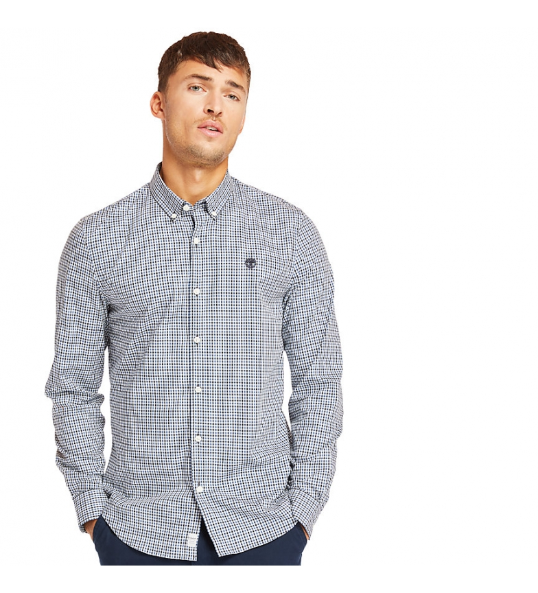Comprar Timberland Suncook River blue check shirt