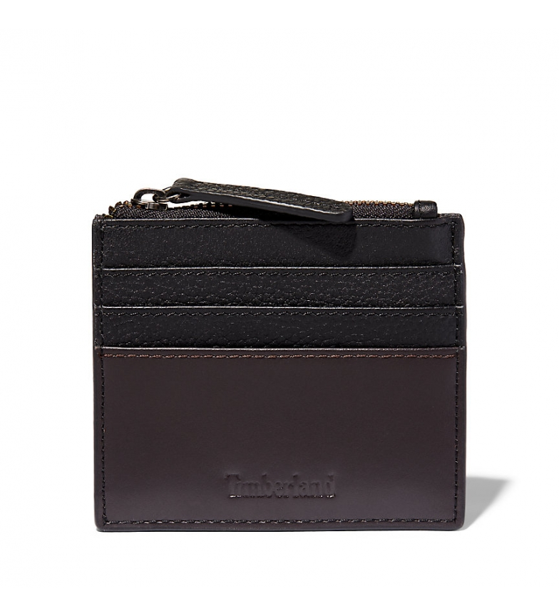 Comprar Timberland Tuckerman black card holder -10x8,5cm