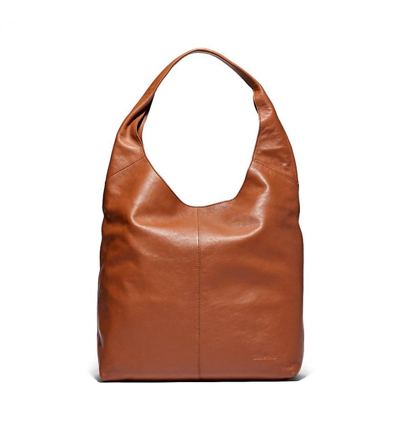 Comprar Timberland Brown Hobo leather bag