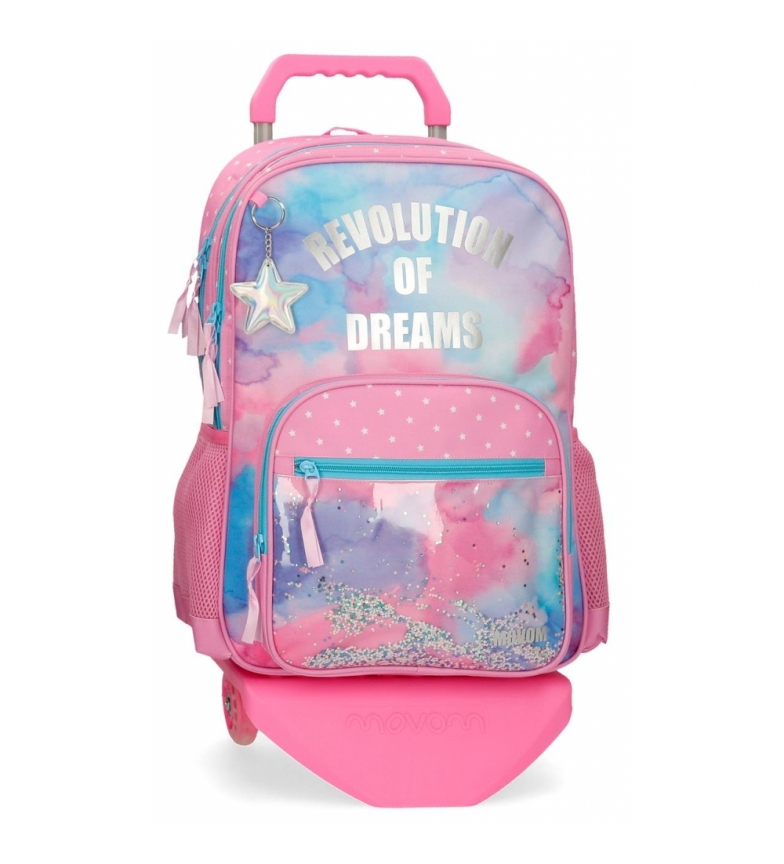 Comprar Movom Revolution Dreams Backpack Double Compartment with Trolley -32x46x17cm