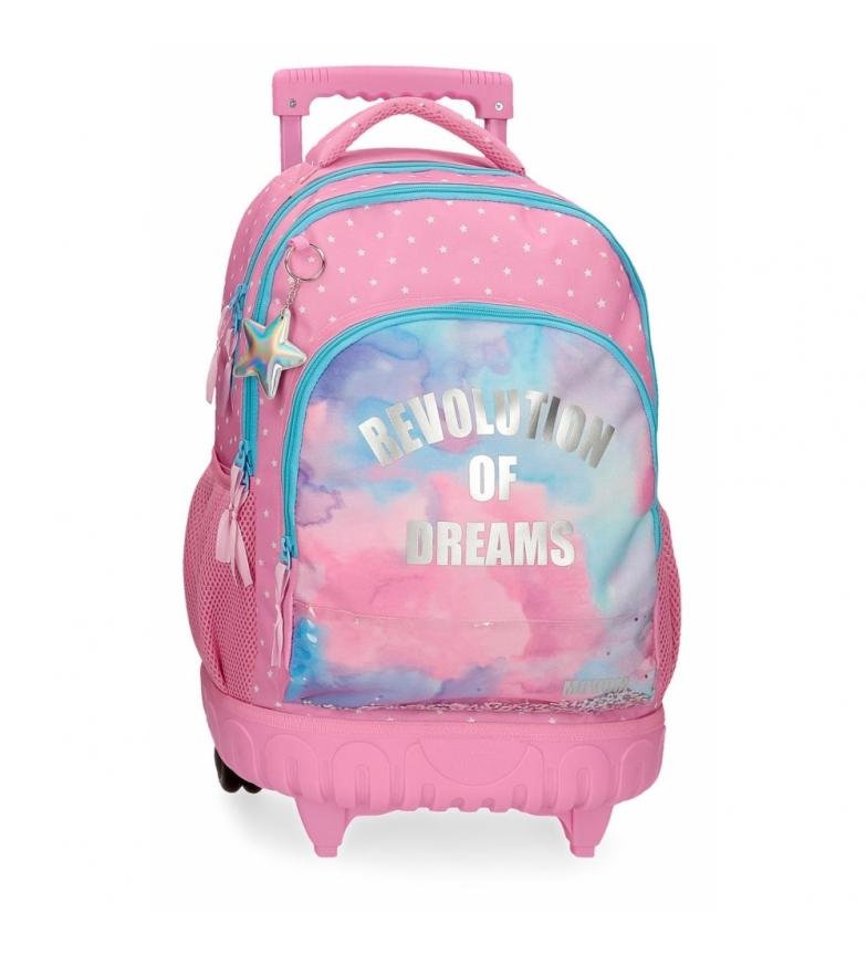 Comprar Movom Revolution Dreams 2 wheeled backpack -34x44x21cm