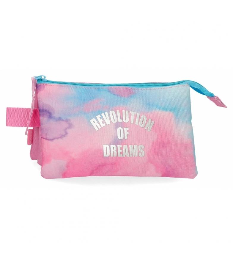 Comprar Movom Estuche Revolution Dreams Tres Compartimentos multicolor -22x12x5cm-