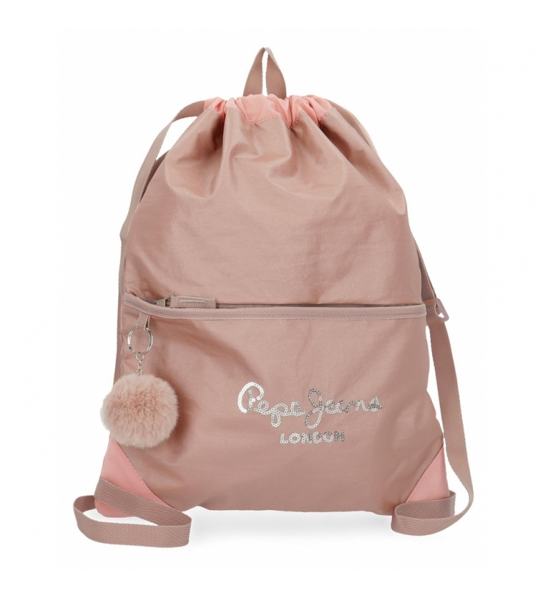 Comprar Pepe Jeans Pepe Jeans Celia pink backpack -35x46cm