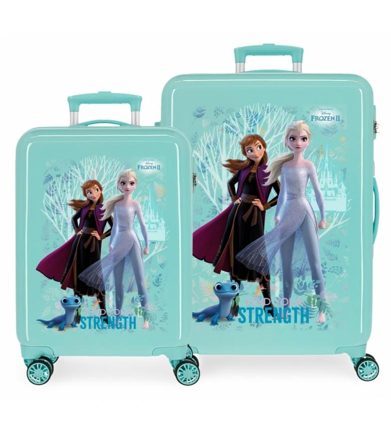 Comprar Frozen Ensemble de valises à parois rigides Frozen Find Your Strenght -38x55x20cm/48x68x26cm