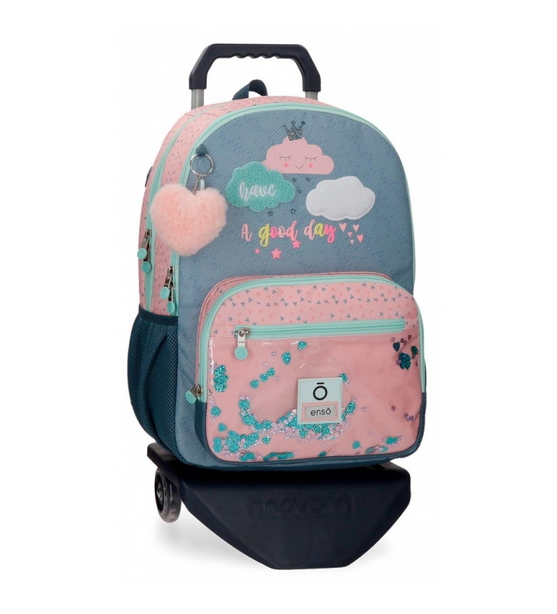 Comprar Enso Enso Good Day Backpack Double Compartment with Trolley -32x44x17cm