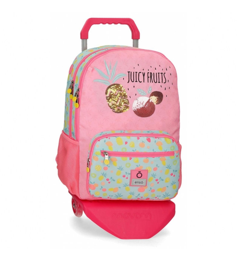 Comprar Enso Enso Juicy Fruits Backpack Double Compartment with Trolley -32x44x17cm