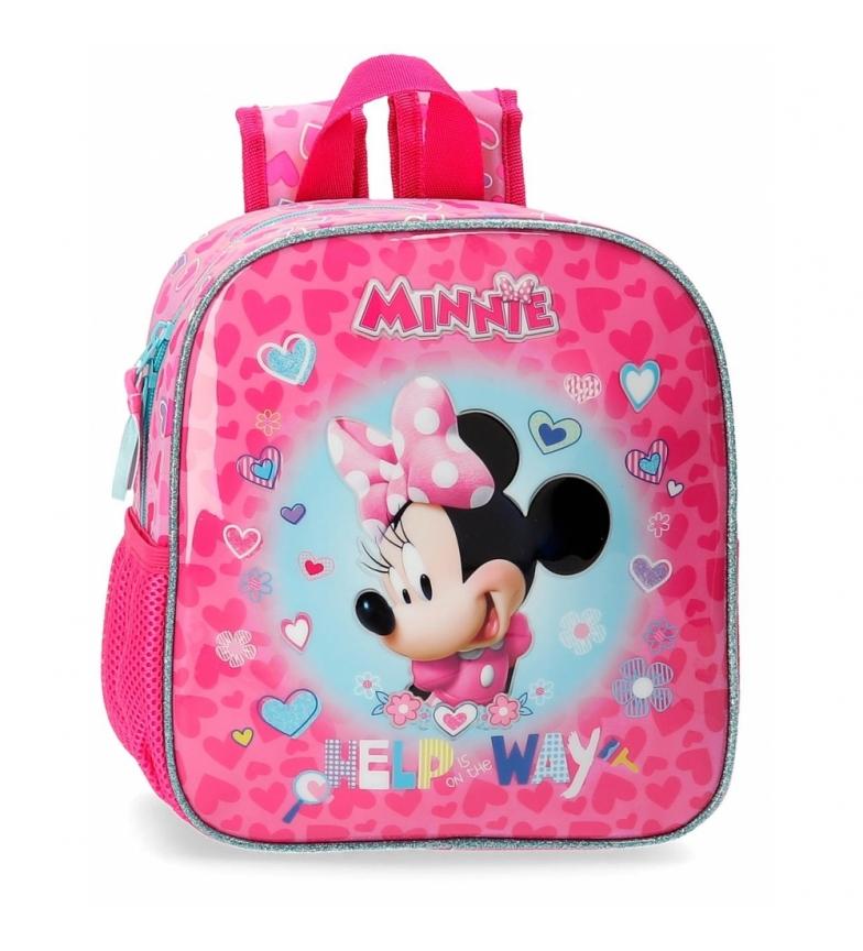 Comprar Minnie Minnie Help mochila pré-escolar -23x25x10cm